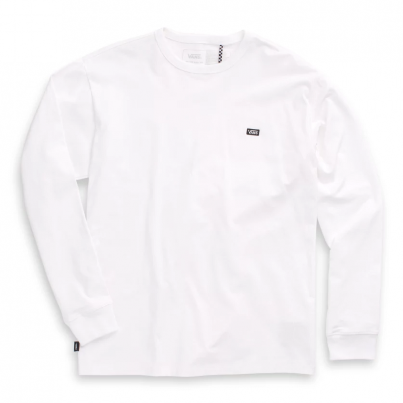 OFF THE WALL CLASSIC LS, white