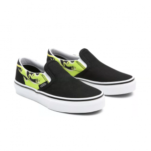 UY Classic Slip-On (SLIME FLAME) BLK/TR WHT