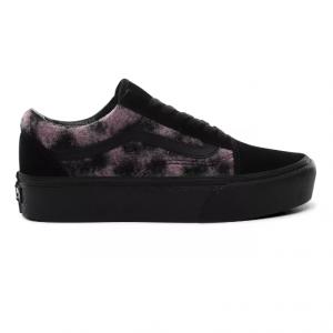 UA Old Skool Platform (Mix Leopard) pink/black
