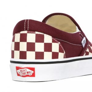 UA Classic Slip-On, (checkerboard) port royale/tru