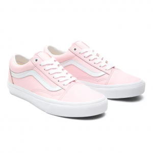 UA Old Skool (LEATHER)BLUSHNGBRDETRWHT
