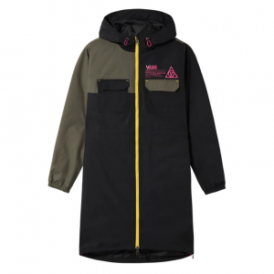 66 SUPPLY LONG ANORAK MTE, black