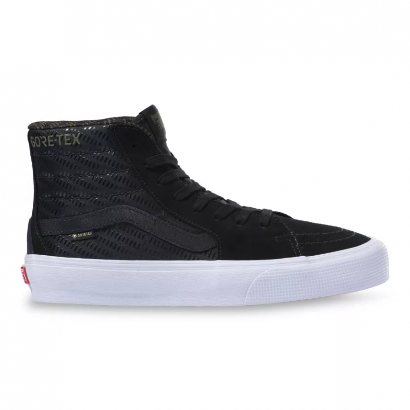 UA SK8-Hi Gore-Tex, (gore-tex) black/true white