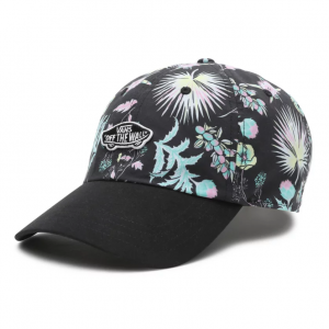 WM COURT SIDE PRINTED HAT CALIFAS BLACK