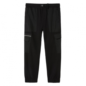 66 SUPPLY FLEECE PANT, black