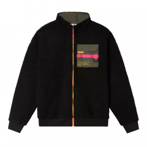 66 SUPPLY ZIP SHERPA, black