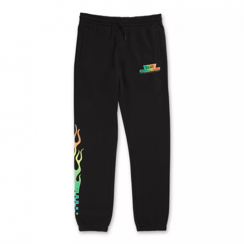 By Glow Flame Pant Fleece Black