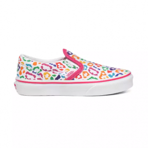 Uy Classic Slip-On Rainbow Leopard