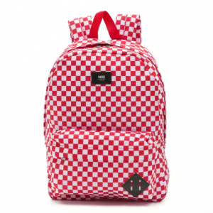 MN OLD SKOOL III BACKPACK RED CHECK