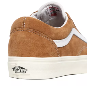 UA Old Skool, (pig suede) honey gold/true white