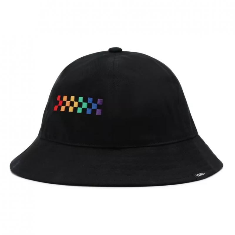 WM PRIDE BUCKET HAT Black S/M