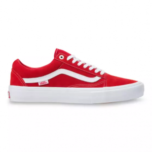 MN Old Skool Pro (Suede) red/white