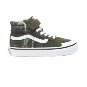 Uy Sk8-Hi Reissue 138 V (Plaid Camo) Grape Leaf/T