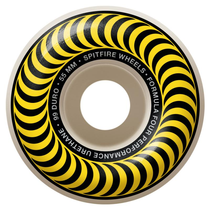 Spitfire F4 Classic 99 55mm Yellow
