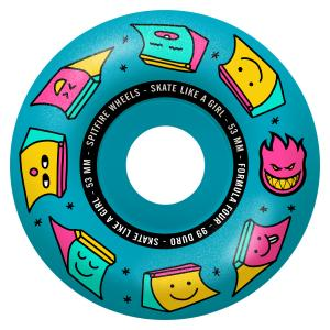 Spitfire Radial Skate like a Girl 99du 53mm Blue