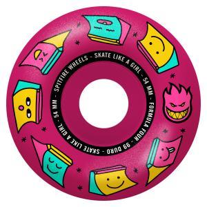 Spitfire Radial Skate like a Girl 99du 54mm Pink