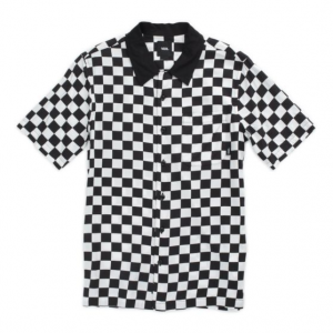 By Checker Camp Ss Boys White/Black