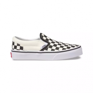 UY Classic Slip-On (Checkerboard) Black/Wht