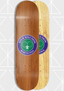 "Sour - Social Club Light Wood 8,125"""