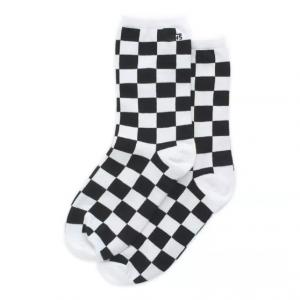 WM TICKER SOCK 6.5-10 1PK Black Checkerboard