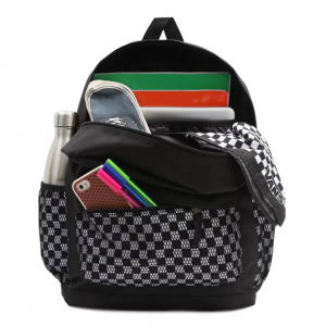 WM SPORTY REALM PLUS BACKPACK Black/Checkerboard