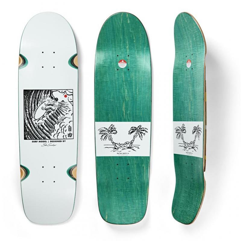 Polar Shin Sanbongi Freedom Wheel White Surf  Jr