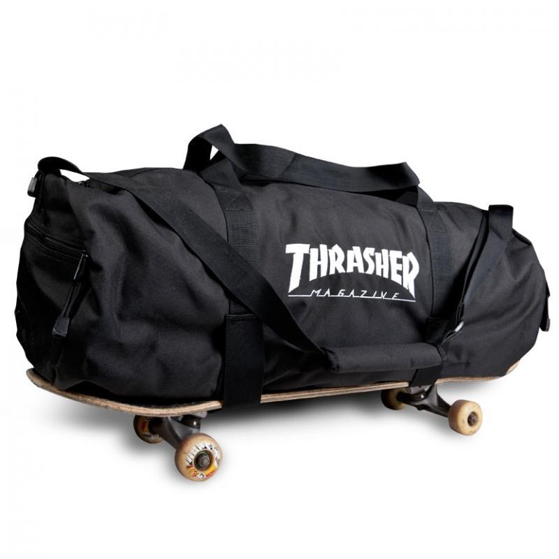Thrasher Bag Duffel W Boardstraps Black