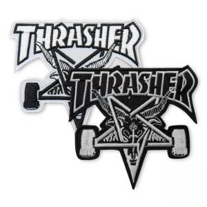 Thrasher Patch Goat Black