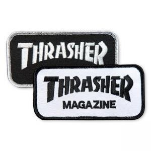 Thrasher Patch Logo Black