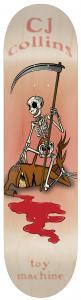 Toy Machine Cj Collins Reaper Skeleton 8,25