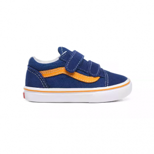 TD ComfyCush Old Skool V (POP)TR BL/CADMIUM YELLOW
