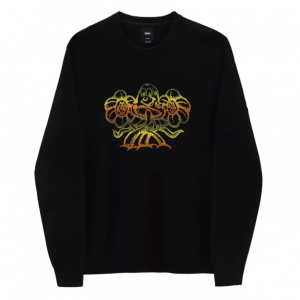 MN TRIPPY OUTDOORS SWEATER Black
