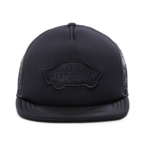 CLASSIC PATCH TRUCKER, black