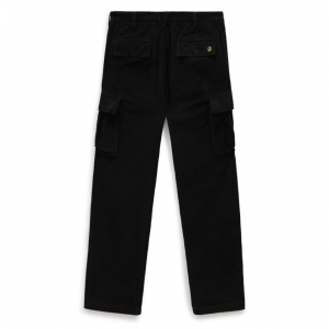 MN TYSON P LOOSE TAPERED CORD CARGO PANT Black