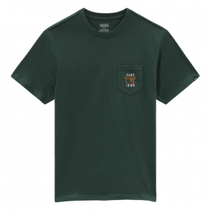 MN VISUALIZE PEACE POCKET TEE S/S sycamore