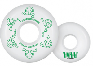 Wayward Wheels Brooker New Harder 53mm 101a