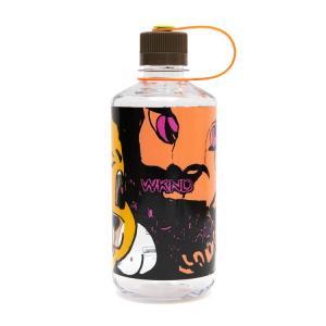 Wknd Mouth Bottle Orange Woodsman