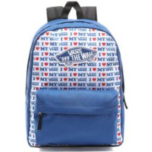 Wm Realm Backpack True Blue/Vans Love