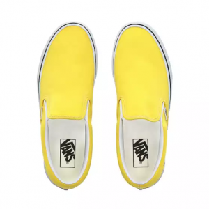 Ua Classic Slip-On Vibrant Yellow/True White