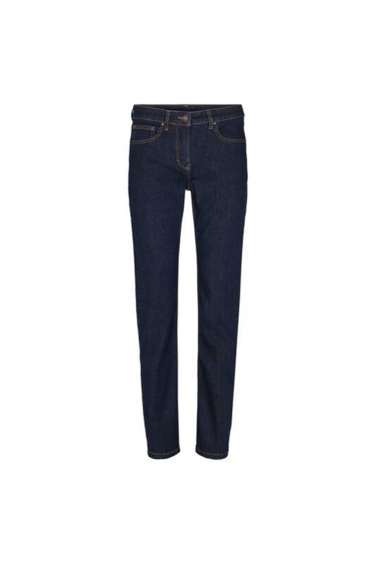 Jeans mörk denimblå reg