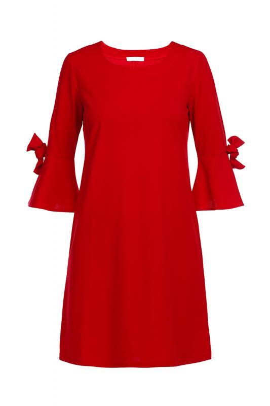 Klänning röd
