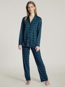 Pyjamas blå/grön