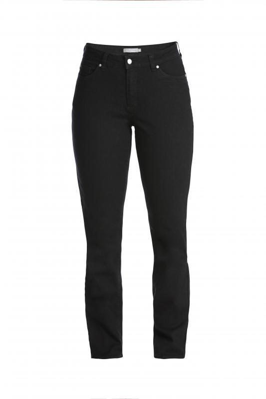 Jeans svart normal benlängd