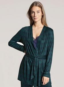 Kimonojacka marin-grön