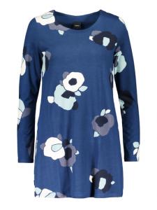 Tunika blå/mönstrad