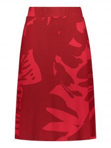 Kjol rödmönstrad