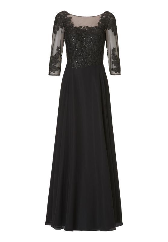 Långklänning svart