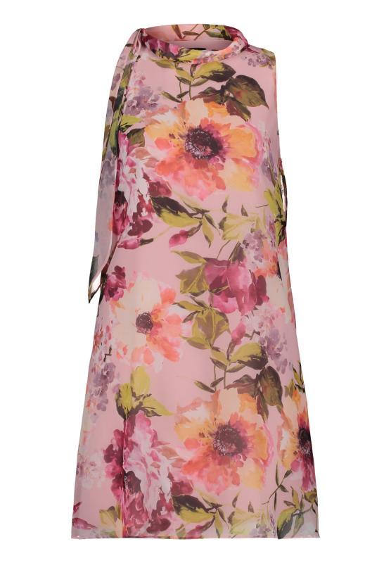 Klänning rosa/blommig