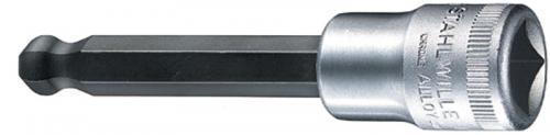 """Stahlwille 1/2"""" Insexhylsor med kula 5-10mm"""
