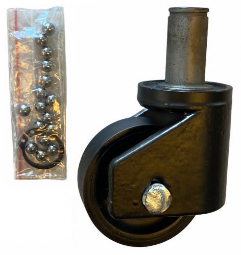 Compac 150BL hjul svivlande (nylon)